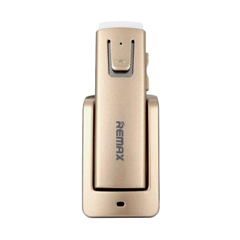 Remax RB-T6C Car Bluetooth V4.1 Earphone - Golden