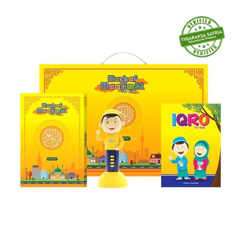 Al Qolam Al Quran Digital Mushaf Maqamat for Kids Free 1x Bag