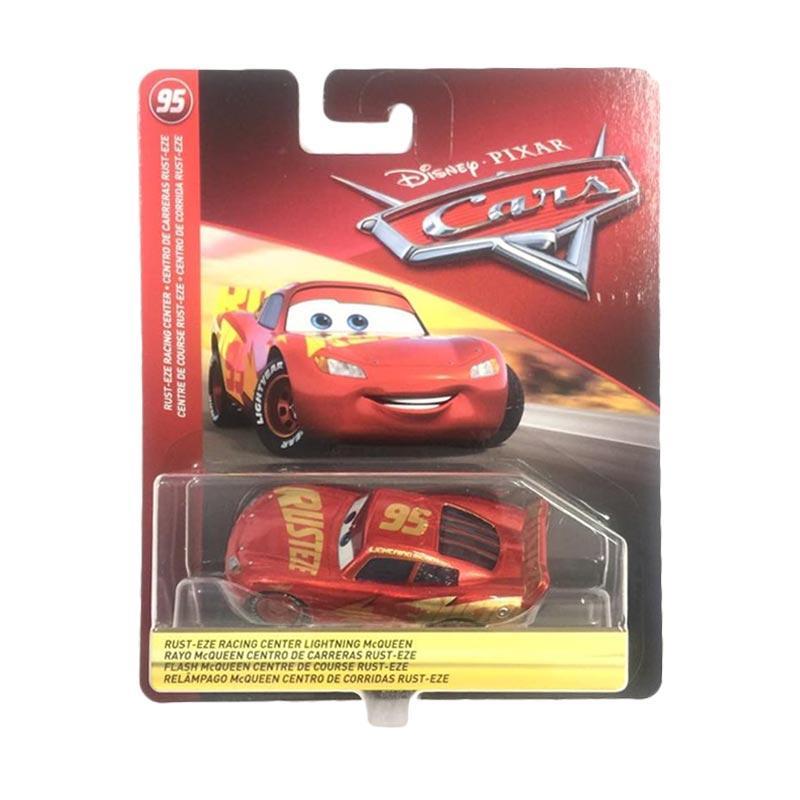 Jual Mattel Disney Cars 3 Lightning Mcqueen Rusteze Racing Center Exclusive Target Diecast 1 50 Online Desember 2020 Blibli