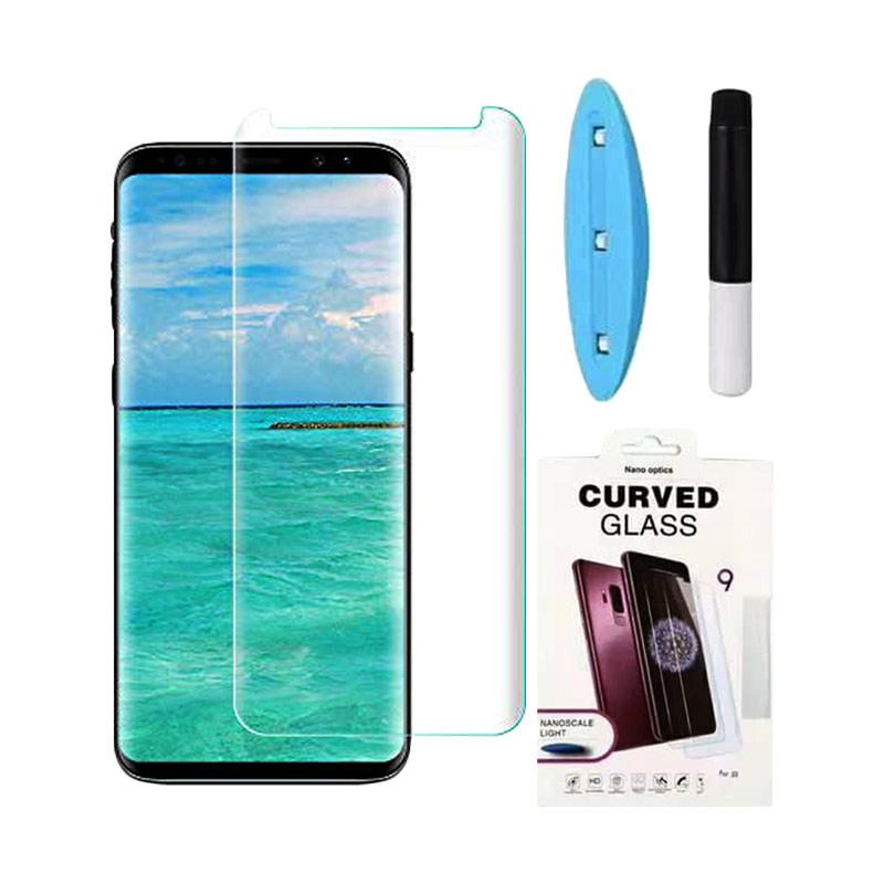Ranmel UV Light Nano Liquid Tempered Glass Screen Protector for Samsung Galaxy Note8 - Clear [