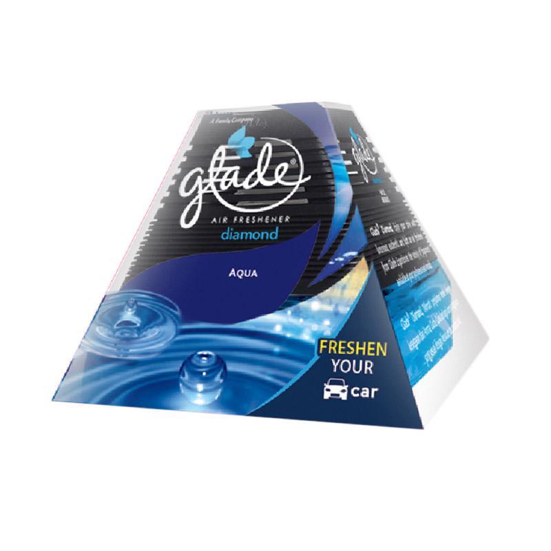 Jual Glade Diamond Aqua Reg Pengharum Mobil 80 Ml Online Februari 2021 Blibli