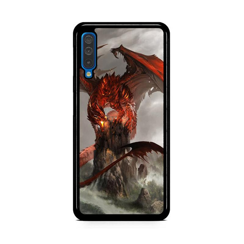 Jual Flazzstore Red Dragon Wallpaper Y2152 Premium Casing For