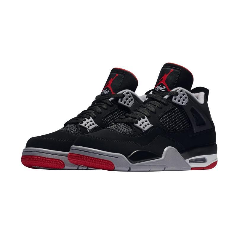 Jual NIKE Air Jordan 4 Bred Sepatu