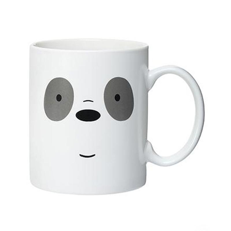 Miniso Official Panda We Bare Bears Ceramic Mug