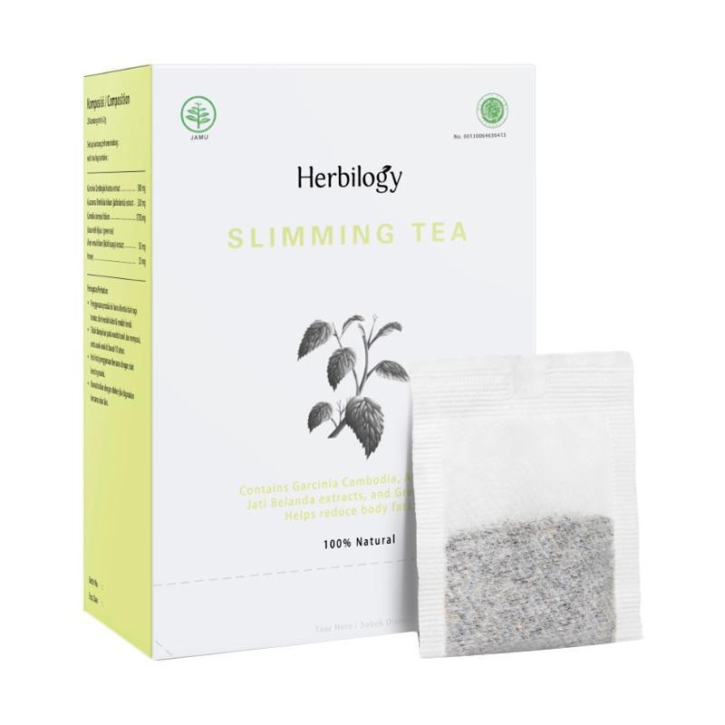 Herbilogy Slimming Tea Minuman Kesehatan