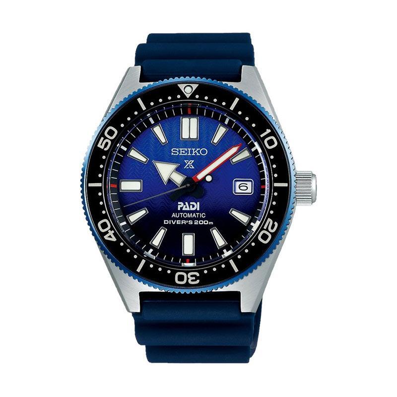 Seiko Prospex Padi Special Edition Automatic Jam Tangan Pria Blue Silver