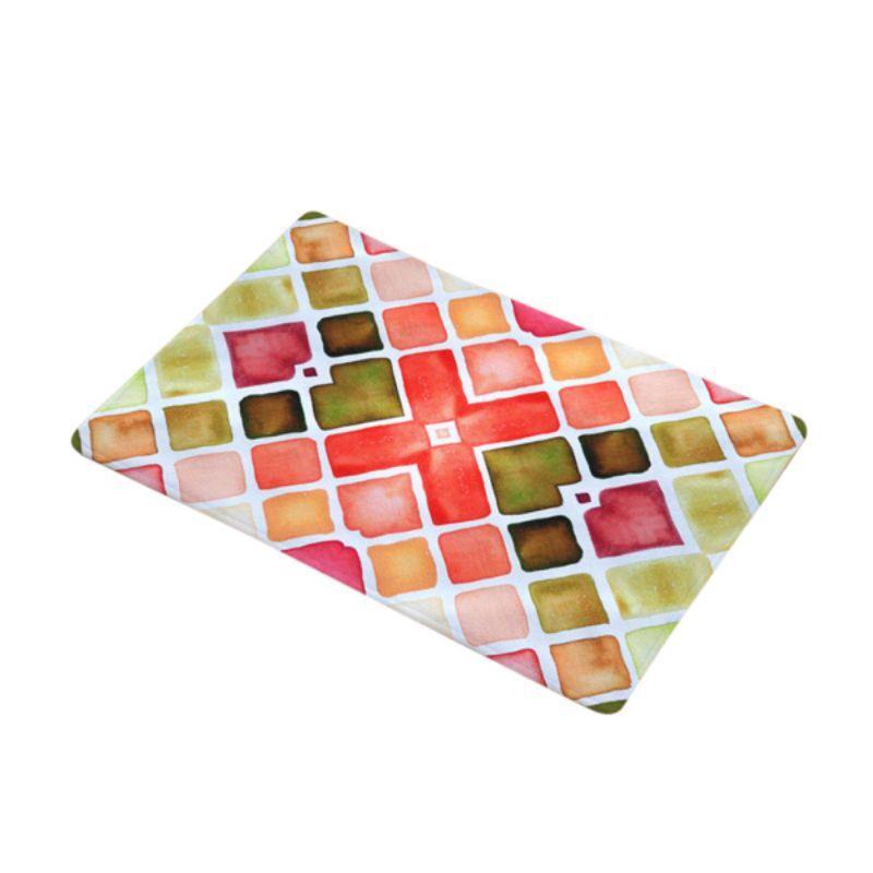 Jual Oem Colorful Door Mat Absorbent Anti Slip For Home Kitchen Room Doormat 2 Pcs Online November 2020 Blibli Com