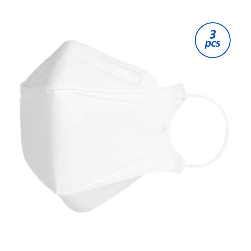 LANS KF94 Dust Mask Fine Dust Mask Pm2.5 Infectious Disease Protection [3 pcs/ Pack]