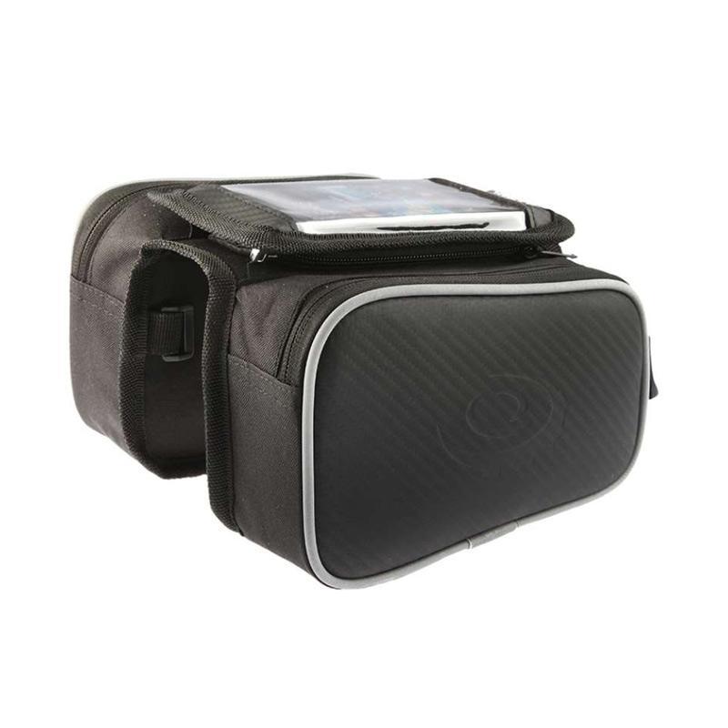 Roswheel ROS12813 Waterproof Tas Sepeda dengan Case Smartphone Black
