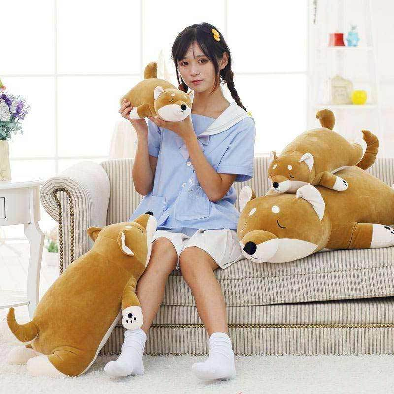 Jual Boneka Anjing Shiba Inu 40cm Online Desember 2020 Blibli