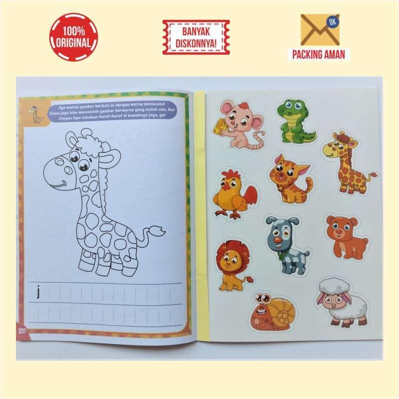 Buku Mewarnai Usia Dini Tema Binatang Anak Paud Tk Terbaru Agustus 2021 Harga Murah Kualitas Terjamin Blibli