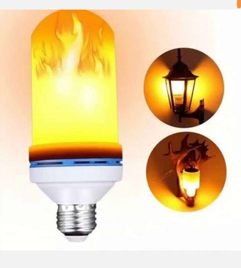 Jual Lampu Obor Api Bohlam Led Hias Taman E27 10watt Online April 2021 Blibli