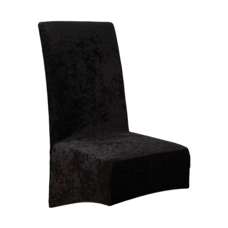 Jual Dining Chair Covers Wedding Banquet Stretch Velvet Spandex Slip Seat Covers Online Februari 2021 Blibli