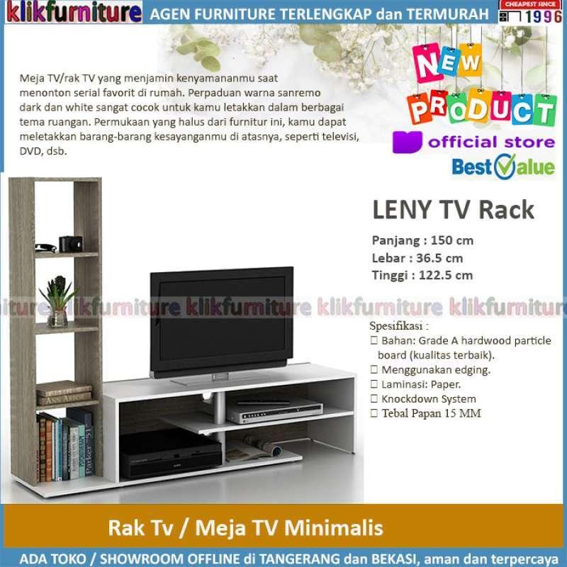 Jual Meja Tv Rak Tv Tv Rack Minimalis Leny Online Februari 2021 Blibli