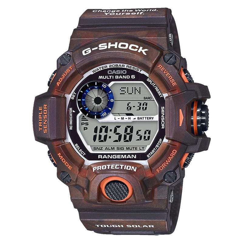Casio G Shock Rangeman GW 9405KJ 5JR Limited Edition Earthwatch Digital Dial Camouflage Resin Strap Machtwatch