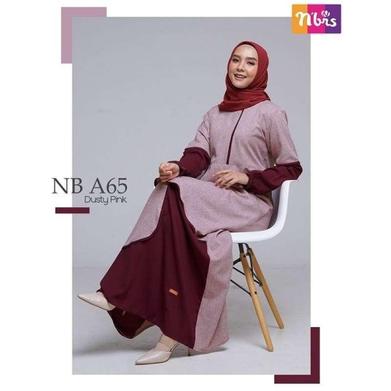 Jual Gamis Nibras Nb A65 Baju Gamis Wanita Dewasa Muslim Syari Murah Terbaru 2020 Online Februari 2021 Blibli