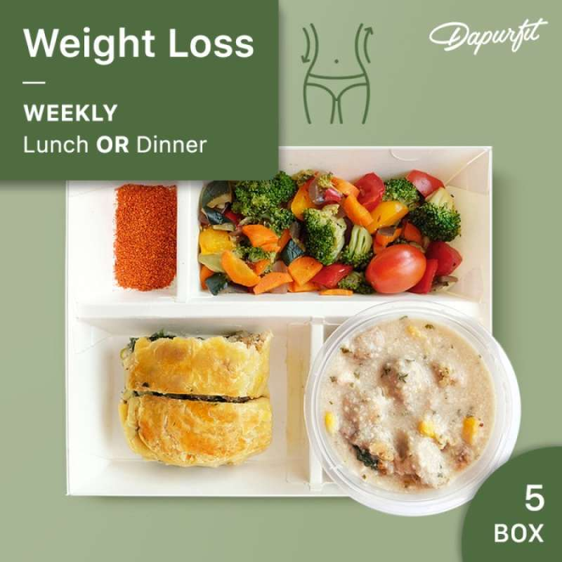 DapurFit Weight Loss Weekly Lunch