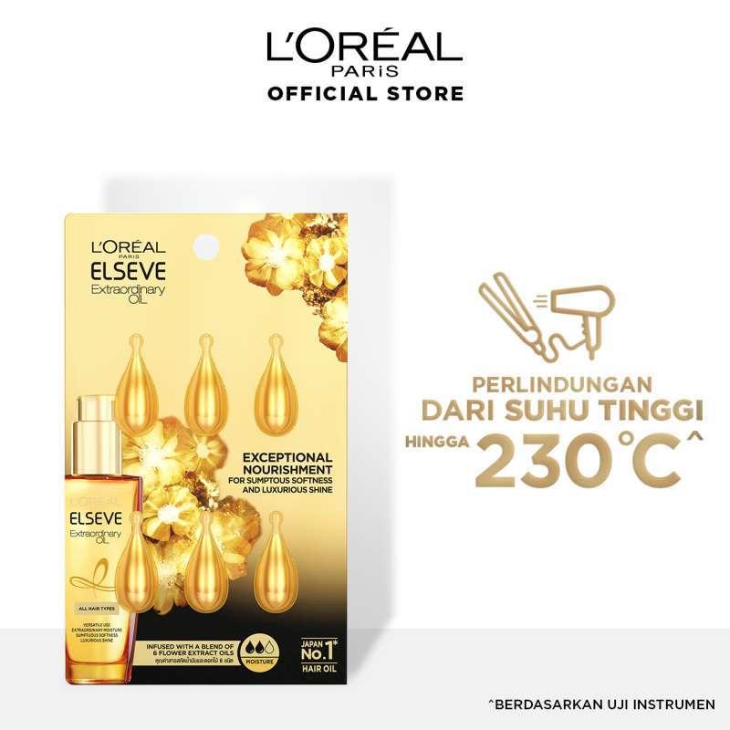 L Oreal Paris Extraordinary Oil Droplet Gold 1ml 6pcs