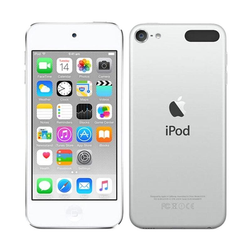 harga Apple Ipod Touch 6 Portable Player - Silver [64 GB] Blibli.com