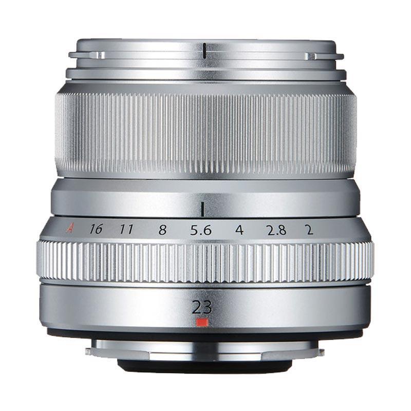 Fujifilm XF 23mm F2.0R WR Lensa Kamera - Silver