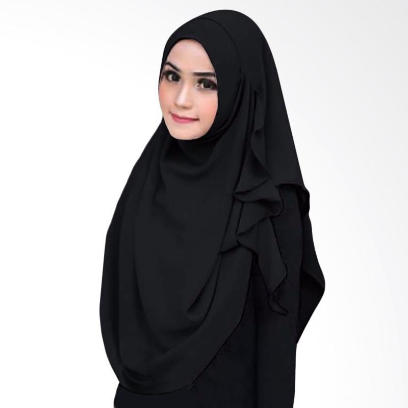 Kus_group Flowing Hijab Instant - Black