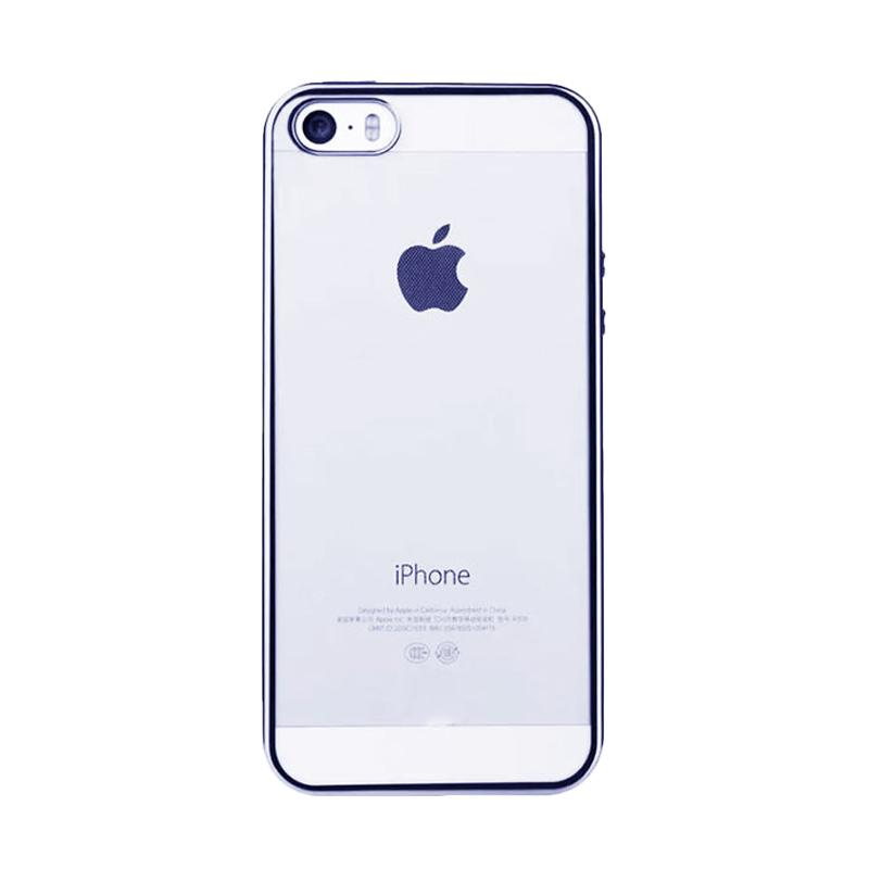 Likgus Tough Shield Casing for iPhone 5 or 5S - Silver
