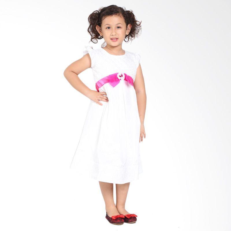 Pretty Girl 2NAJWA Dress Anak - White
