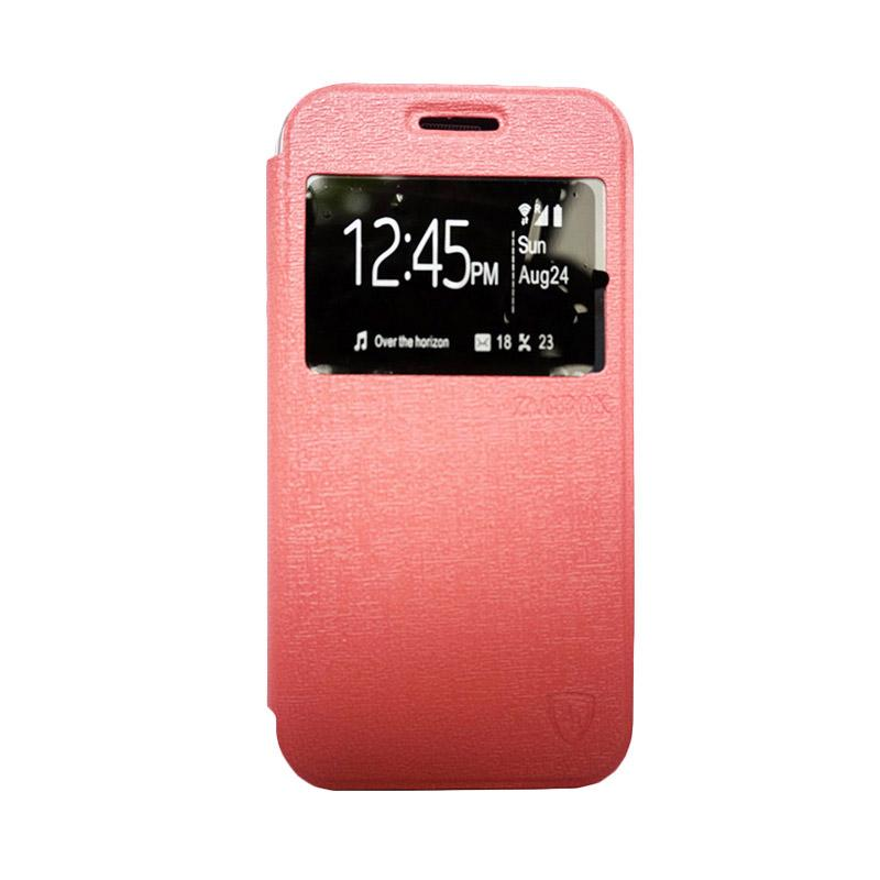 Zagbox Flip Cover Casing for Samsung Galaxy A510 A5 2016 - Pink