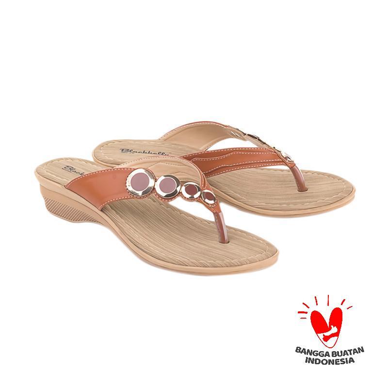 Blackkelly LUD 409 Sandal Flats Sandal Wanita