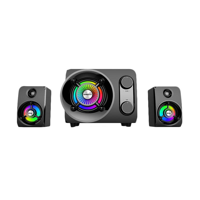 harga Sonicgear Speaker New Titan 7 BTMI + Soncgear Headphone Loop II-M Blibli.com