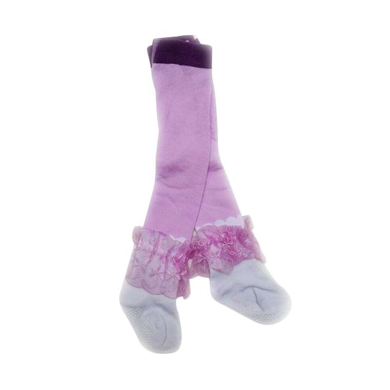 Chloe Babyshop Legging Renda - Purple D