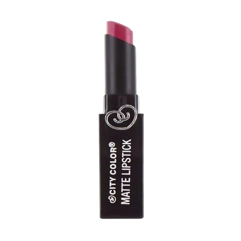 City Color Matte Lipstick - Mulberry