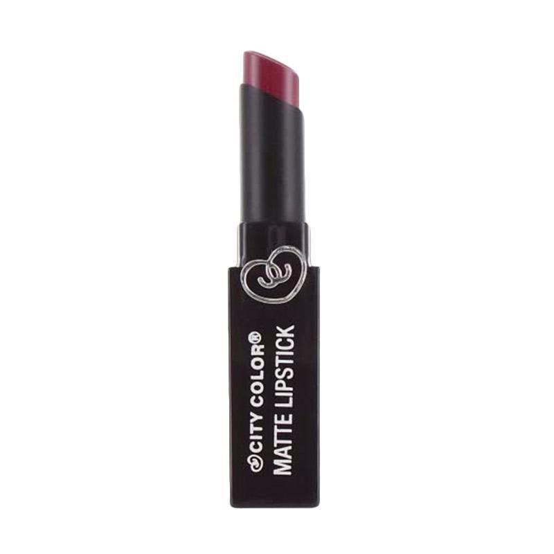 City Color Matte Lipstick - Rosewood