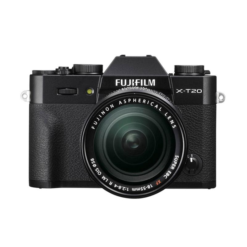 Fujifilm X-T20 18-55mm Kamera Mirrorless - Black