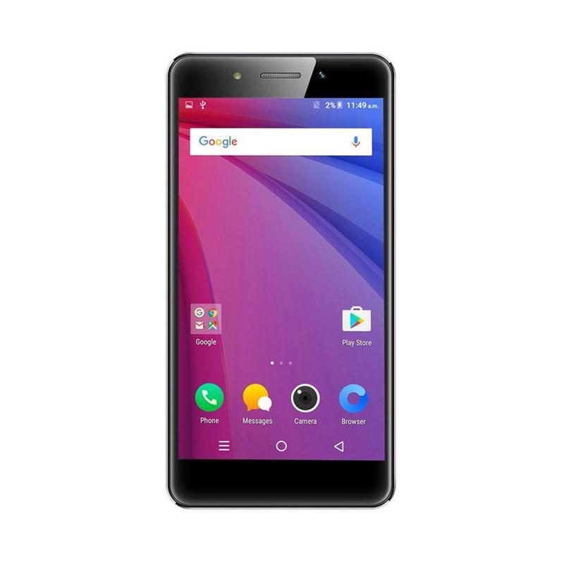 LAVA A3 Mini 4G Smartphone - Gold [16GB/2GB/Garansi Resmi]