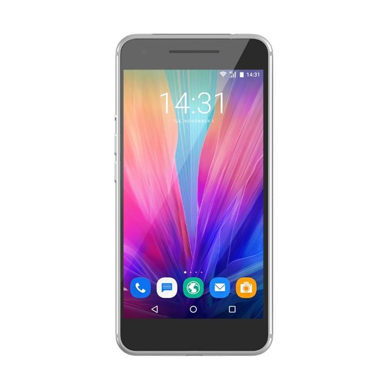 Luna Elevate V55C Smartphone - Silver [64GB/ 3GB/ 4G]