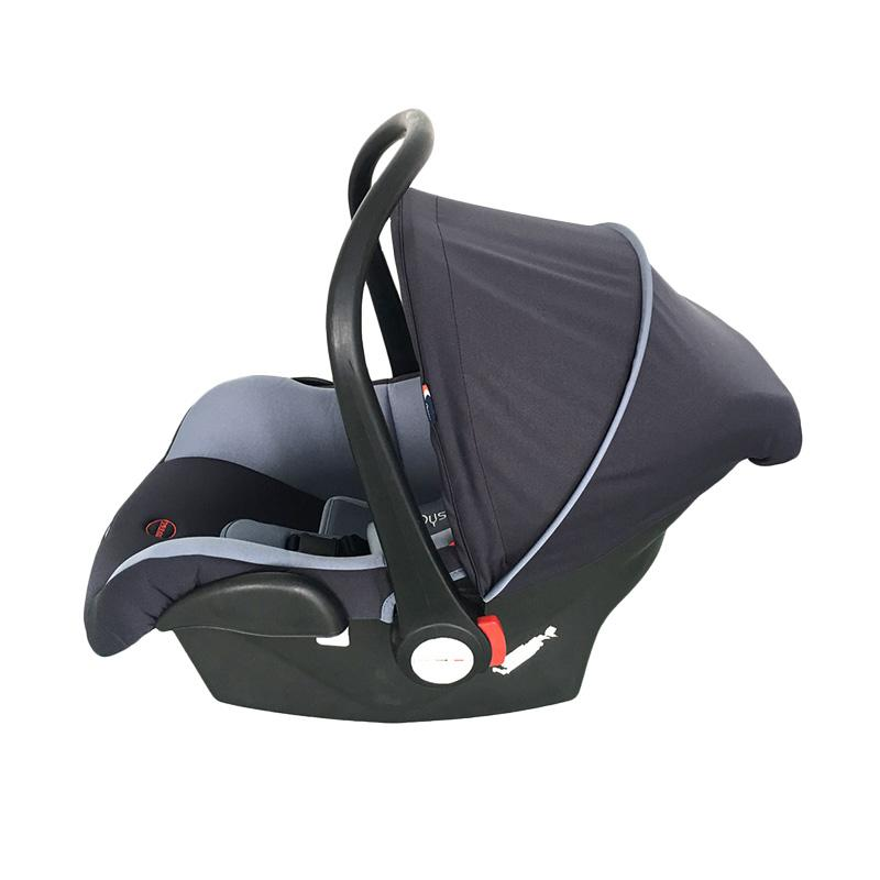 Oyster F1 Carseat Baby Carrier - Black Grey [0 - 15 m]