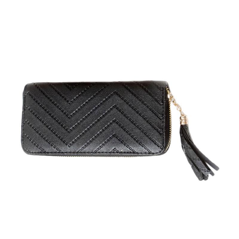 harga Paroparoshop Zigzag Wallet - Black Blibli.com