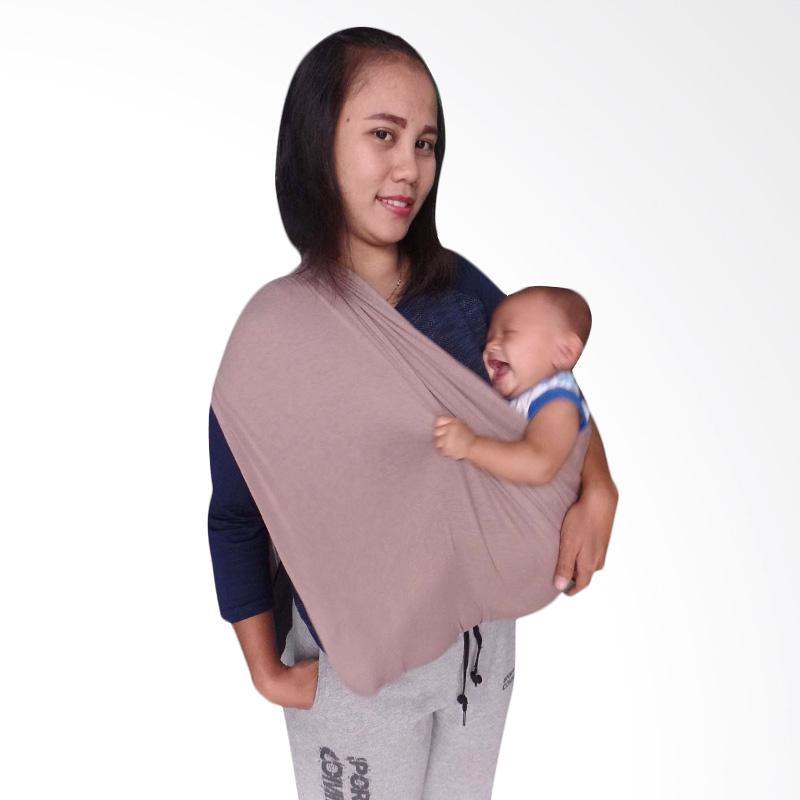 GEOS BianS Gendongan Kaos Bayi - Mocca [Size L]