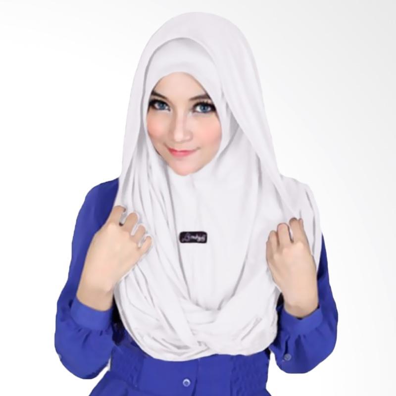 Kus Group Sosor Twist Hijab - Putih