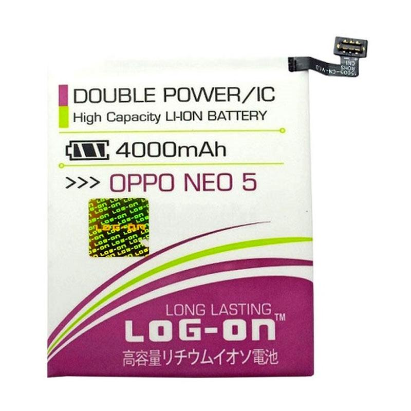 Log On Double Power Baterai for Oppo Neo 5 [4000 mAh]