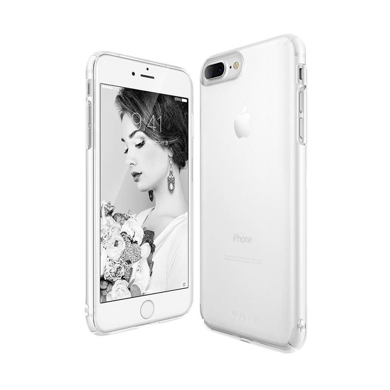 Ringke Slim Casing for iPhone 7 Plus - Frost White