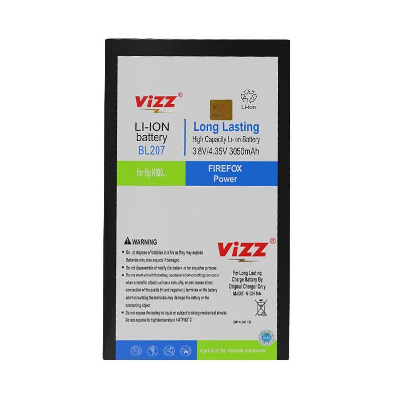 Vizz BL207/K900 Baterai Double Power for Lenovo [3050 mAh]