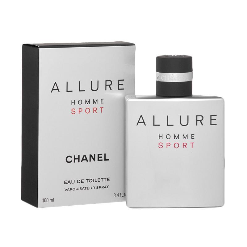 Chanel Allure Homme Sport EDT Parfum Pria [100 mL]