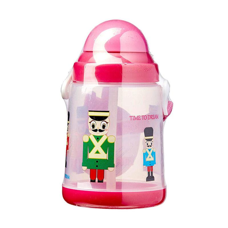 Farlin Water Flask Botol Minum Anak - Pink [430 mL]