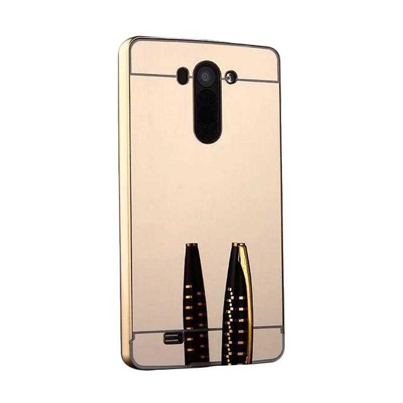 Jual Jagostu Bumper Mirror Casing for LG G3 Stylus - Gold Online - Harga & Kualitas Terjamin | Blibli.com