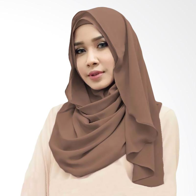 Kus Group Orchid Hijab Instant - Coklat