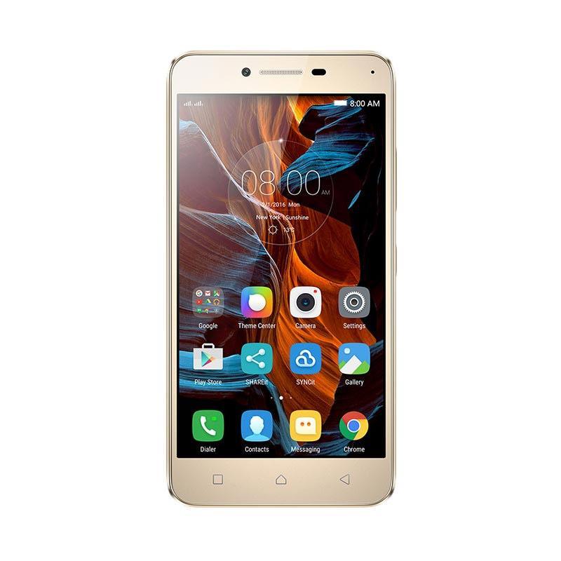 harga Lenovo Vibe K5 Plus A6020 Smartphone - Gold [16 GB/3 GB] Blibli.com