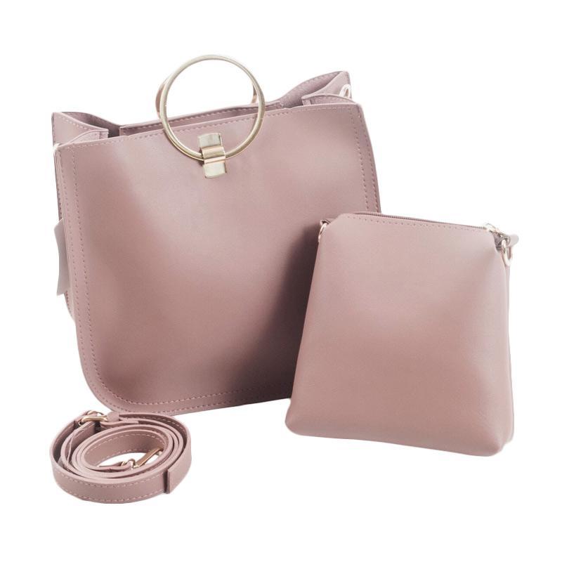 harga Paroparoshop Stefi Slingbag - Pink Blibli.com