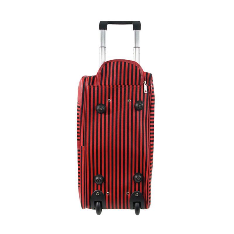 Jual Polo Classic 2052-5 Travel Bag Trolley - Red Online - Harga   Kualitas  Terjamin  3e9efed670d99